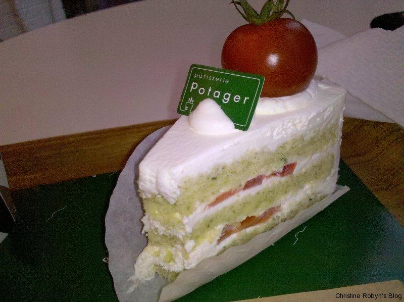 Tomato Chiffon Cake