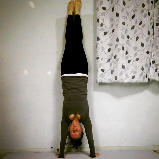 Journey To Handstand Week 1 Yoga Challenge Christine